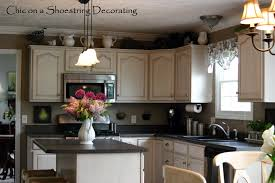 cabinet decor kitchen canned lights
