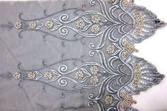 Silver Thread Lace Trim, Corded Sequined Alencon Lace, Wedding ...