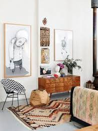 eclectic home with warm tones charming pernk dining room
