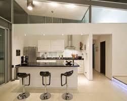 kitchen black mini bar