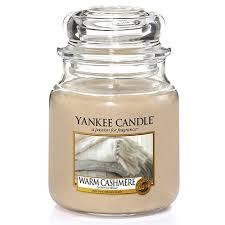 Yankee Candle <b>Ароматическая свеча</b> «Тёплый кашемир» в ...