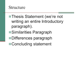 Difference between thesis and introduction paragraph     Difference between thesis and introduction paragraph