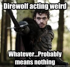 Robb Stark memes | quickmeme via Relatably.com