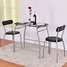 Giantex <b>3 Piece Bistro</b> Dining Set with B- Buy Online in Suriname at ...