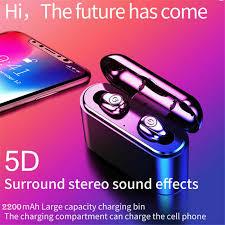<b>Bluetooth 5.0</b> Headset TWS Wireless <b>Earphones Mini</b> Earbuds ...