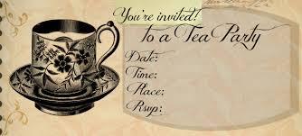 tea party invitation template com tea party invitation template for additional decorative party design 511162