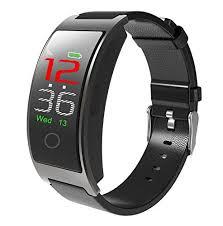 <b>CK11C</b> Color Screen Fitness Tracker <b>Smart Watch</b> Bracelet Blood ...