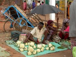 Image result for image indian market adivasi