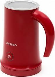 <b>Вспениватель молока Oursson MF2005</b>, красный — купить в ...
