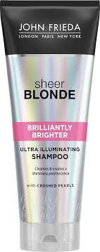 John Frieda Sheer Blonde Brilliantly Brighter <b>Шампунь для</b> ...