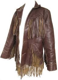Image result for leather fringe jacket