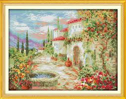 <b>Everlasting love</b> A beautiful <b>garden</b> Chinese cross stitch kits ...