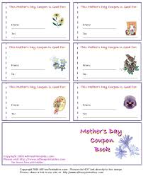 Mother's Day Printables, Mother's Day Cards, Coupon Books and ... mdblanktn