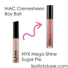 NYX Sugar Pie dupe <b>MAC Boy Bait</b> #dupe #dupes #macdupe ...