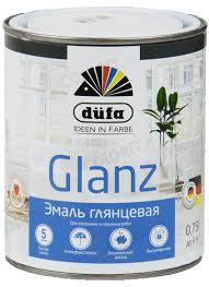 <b>Эмаль Dufa Retail</b> GLANZ глянцевая белая 750мл купить в ...