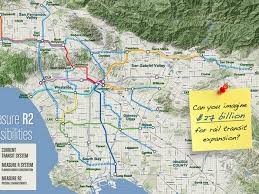 here s the amazing la rail map that measure r could fund curbed la