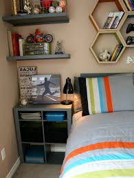 teen boy room decor waplag bedroom ideas with nightstand and read lamp plus unique floating shelves bedroom furniture teenage boys interesting bedrooms