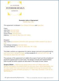 how to write an interior design letter of agreement any interior design large size how to write an interior design letter of agreement any