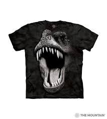 The Mountain Kid's T-Shirt - <b>Big Face Glow</b> Rex