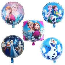 18 Inch Elsa Anna <b>Princess Foil Balloon</b> Inflatable <b>Helium Balloons</b> ...
