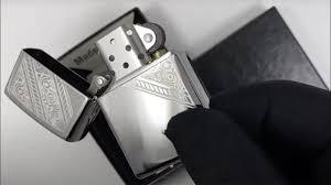 49165 <b>Зажигалка Zippo Lace</b>, High Polish Chrome - YouTube
