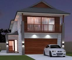 NEW DESIGN    narrow block house designs   Australian Narrow Lot    Narrow Bed Room House Plan