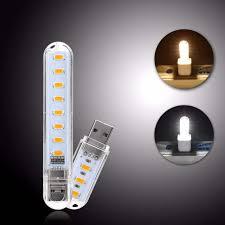 Online Shop <b>2Pcs</b>/<b>Pack</b> Mini USB <b>LED</b> Light Night Light Camping ...