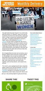 newsletters women deliver 2016