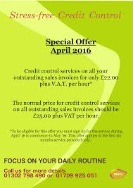 credit control offer
