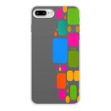 """Чехол для iPhone 7 Plus, объёмная печать """"<b>Квадраты</b>"""" #2761562 ..."""