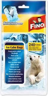 """<b>Пакеты для льда</b> """"Fino"""", <b>самозакрывающиеся</b>, 240 кубиков 98102 ..."""