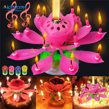 Best value <b>Lotus</b> Cake Candle