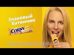 <b>Corny Злаковый</b> батончик Big с бананом и молочным шоколадом ...