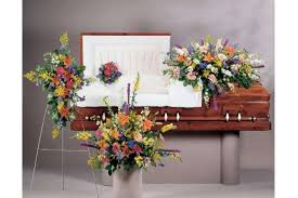 Image result for casket flowers