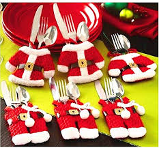 MSQ Christmas Decorations Table Decorations 4pcs ... - Amazon.com