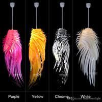 cheap novelty light white feather pendant light fixture colors plastic suspension chandelier lamp drop hanging lighting cheap chandelier lighting