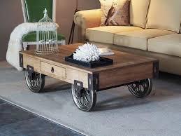 american retro wood coffee table wrought iron american retro style industrial furniture desk