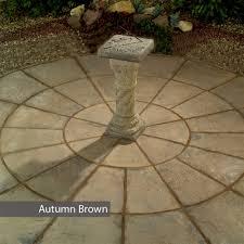 patio slab sets: stamford circle patio paving kit mm diameter