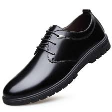 <b>Men's</b> Casual <b>Patent Leather Shoes Men</b> Luxury Classic Business ...