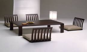 Low Dining Room Sets Japanese Low Dining Table All Old Homes