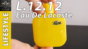 <b>Lacoste Eau De</b> Toilette L.12.12 Mens Fragrance Review • Luxury ...