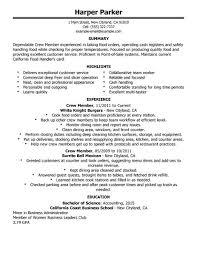 Sample Caregiver Resume  resume for a caregiver caregiver good     Fast Food Crew Member Resume Sample   sample caregiver resume