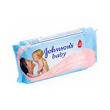 <b>Салфетки влажные Johnson's Baby</b> Нежная забота, 64 шт Россия