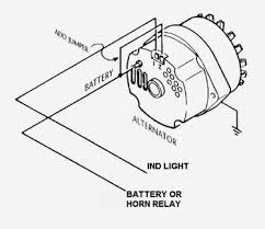 changing from 2 wire alternator to 1 wire question the h a m b on simple car voltmeter wiring diagram