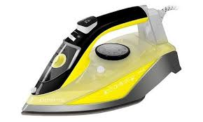 <b>Утюг Polaris PIR</b> 2460АK 2400Вт желтый/серый