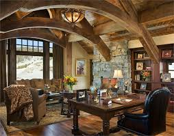 beautiful rustic home office desks introducing natural beauty into the room amazing rustic home office