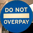 overpay