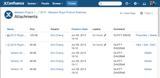 gliffy diagrams for confluence   version history   atlassian    version history
