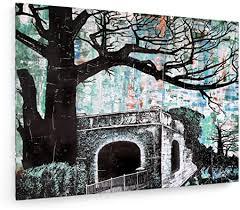 """Achim Marx - The <b>tunnel entrance</b> - 23,62"""" x 17,72"""" inch (60x45 cm ..."""