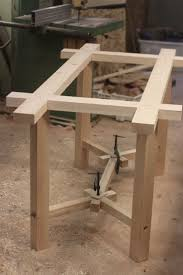 dining table woodworkers: quotworking on a double dining table and accompanying benches commission for a local home at